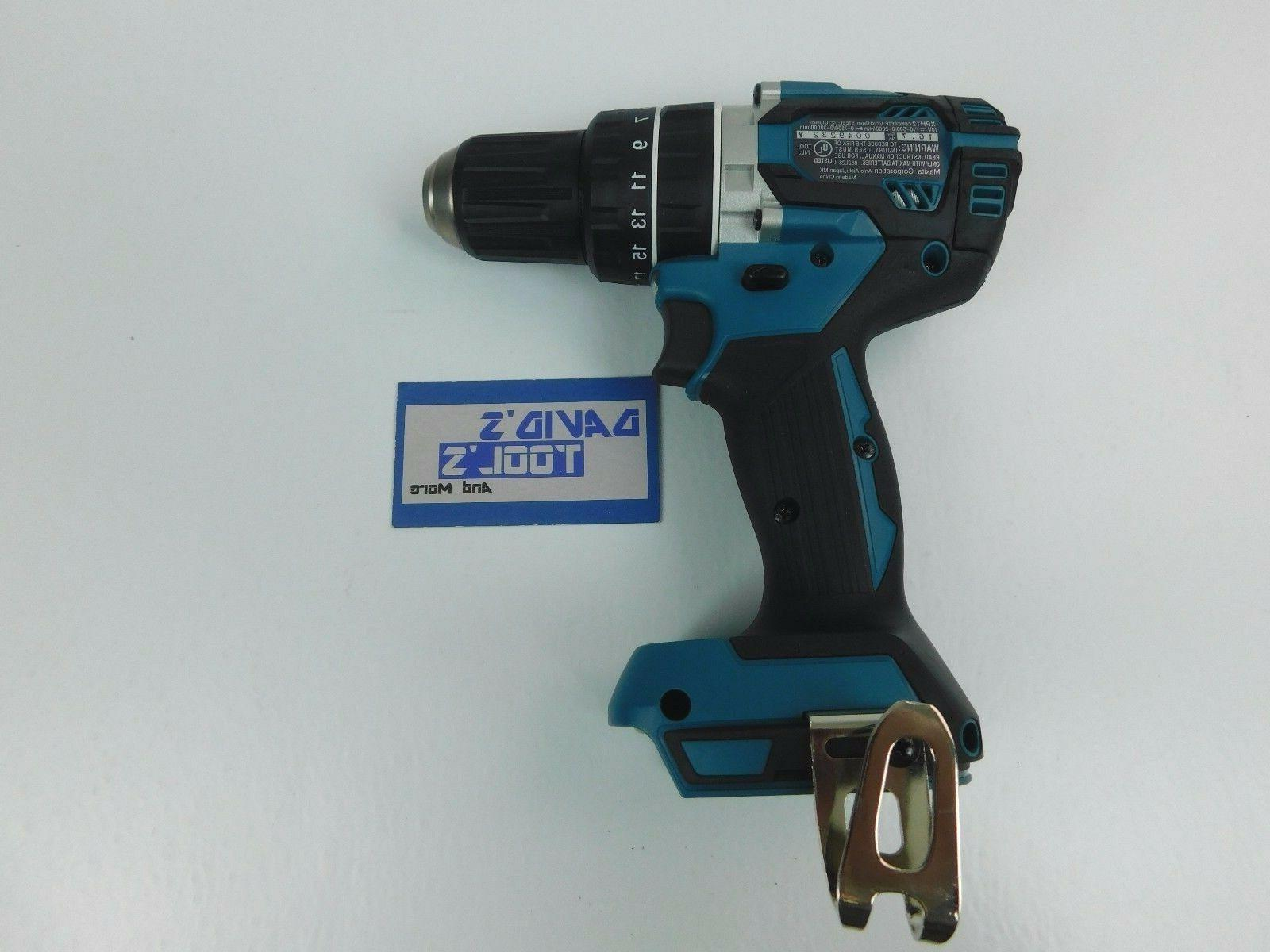 New Makita LXT Lithium-Ion Cordless Drill