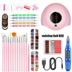LED Nail Dryer Light Gel Polish Lamp Curing Manicure Machine