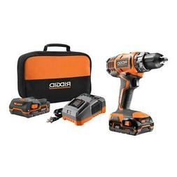 New RIDGID 18 Volt Lithium Ion 1/2 in Cordless Compact Hamme