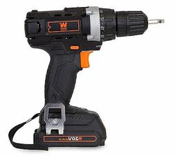 """WEN 20-Volt Lithium-Ion 3/8"""" Cordless Drill/Driver and Bits"""