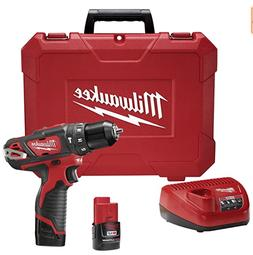 Milwaukee 2408-22 M12 3/8 Hammer Dr Driver Kit