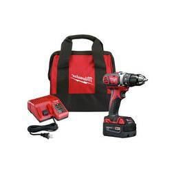Milwaukee M18 1/2 in. Drill Driver Kit 2606-21P New