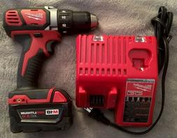 Milwaukee M18 Cordless Drill With Battery And Charger New Wi
