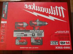Milwaukee m18 drill and impact Set