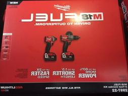 Milwaukee M18 Fuel 2-tool Combo Kit Hammer Drill And Impact