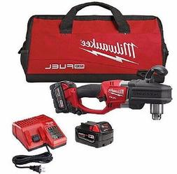 """Milwaukee 2707-22 M18 Fuel Hole Hawg 1/2"""" Right Angle Drill"""