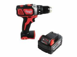 "Milwaukee M18 2606-20 1/2"" Drill Driver with 48-11-1828 3 A"