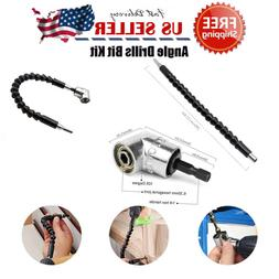 New 105°Right Angle Drill Attachment Adapter Electric Power