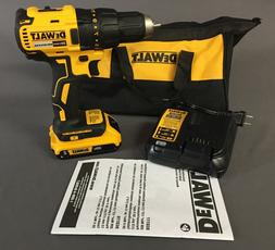 """NEW DEWALT 20V Brushless Compact 1/2"""" Drill with Battery & C"""