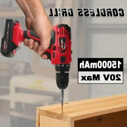 NEW 3/8in 20V Cordless Drill Electric Mini Wireless Power Dr