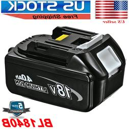 NEW Battery FOR Makita BL1840B 18V 4.0Ah Lithium Ion LXT Li-