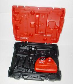 New! Milwaukee M12 FUEL Red Case & Charger For Screw driver