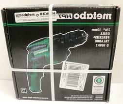 """NEW - Metabo HPT D10VH2 3/8"""" 7-Amp Corded Drill w/Keyless Ch"""