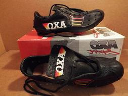 New-Old-Stock AXO Master Pro Cycling Shoes ...Drilled for LO