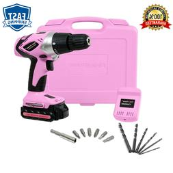 NEW - Pink Power PP181LI 18 Volt Lithium-Ion Cordless Electr