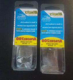 NEW SEALED WingIts Apache 200 3/4 in. INDUSTRIAL CARBIDE Dri