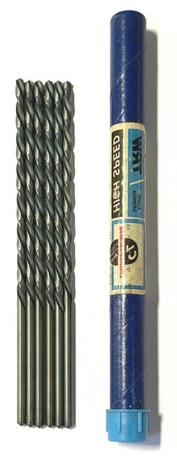 "Chicago Latrobe No.22 Drill Bit HSS 6"" Extra Long Drills USA"