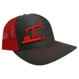 Richardson OilField Drilling Rig Snapback Hat, Trucker Cap f