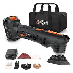 Oscillating Tool, Tacklife PMT03B 20V Max Cordless Multifunc