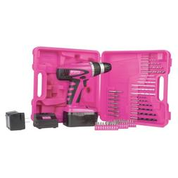 The Original Pink Box PB18VNIC Pink 18V Cordless NiCad Drill
