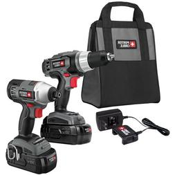 Porter-Cable PC218IDC-2 18V Cordless 1/2 in. Drill Driver an