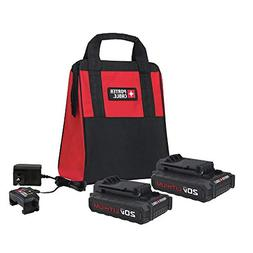 Porter-Cable PCCK888LB 20V MAX Charger and Batteries Accesso