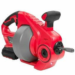 Portable Max 18v Cordless Electric Plumbing Pipe Cleaner dri
