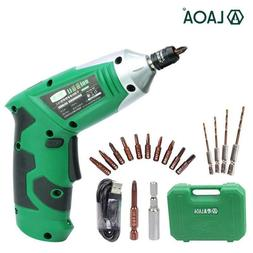 Portable Electric Screwdriver Cordless Drill With Chargeable
