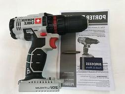 "Porter Cable 18V NiCad OR Li-Ion Cordless 1/2"" DRILL DRIVER"