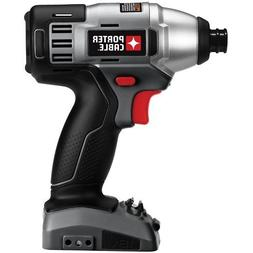 "Porter Cable PCL180ID 18V 1/4"" Hex Impact Driver -"