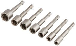 7-piece Power-Grip Screw and Bolt Extractor Set
