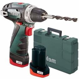 Metabo PowerMaxx BS Drill Driver 10.8V Voltage 2x2.0Ah Capac