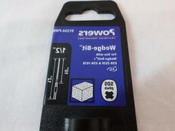 POWERS 01334-PWR SDS Plus Drill Bit,1/2 in. x 12 in.,Carbide
