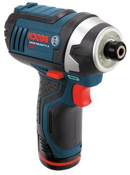 Bosch PS41-2A 12V Max 1/4-Inch Hex Impact Driver Kit with 2
