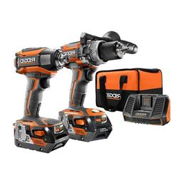 NEW - RIDGID R9205 Gen5X 18V Brushless Hammer Drill and Impa