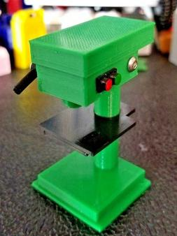 RC 1/10 Scale Green Black Drill Press Stand Rock Crawler Dol