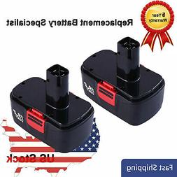 2X 19.2V 3.0Ah for Craftsman C3 Ni-Cd DieHard Battery 11375