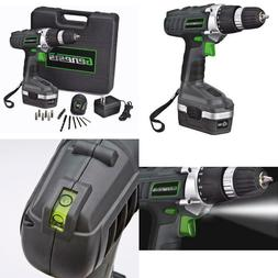 Genesis Reversible Drill Kit 18 Volt Variable Speed Electric