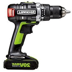 Rockwell RK2852K2 20V Max Cordless Lithium-Ion 1/2 in. Brush