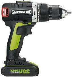 Rockwell RK2853K2 20V Max Cordless Lithium-Ion 1/2 in. Brush