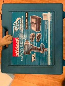 Makita Set with Drill , extra batteries, charger, hard case,