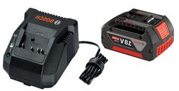 Bosch SKC181-101 18-Volt Lithium-Ion Starter Kit with  4.0 A