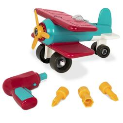 Take - Apart Airplane-Toy vehicle assembly with functional b