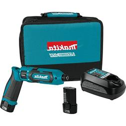 "Makita TD022DSE 7.2V Lithium-Ion Cordless 1/4"" Hex Impact Dr"