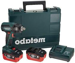 Metabo US602205550 18V 5.5 Ah Cordless LiHD 1/2 in. Square B