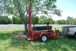 Water Well Drilling Machine Geothermal Drill Rig Pump Drille