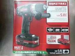Craftsman 19.2V Xcp Heavy Duty Drill