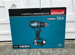 "Makita XFD10R 18V LXT Lithium Ion Compact Cordless 1/2"" Driv"