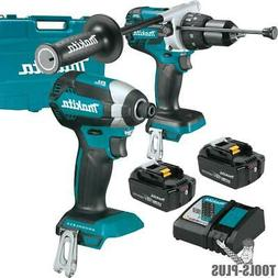 Makita XT267M 18V LXT Lithium-Ion Brushless Cordless 2-Pc. C