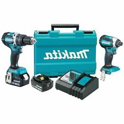 Makita XT269M 18V LXT BL Lithium-Ion Cordless 2-Piece Combo